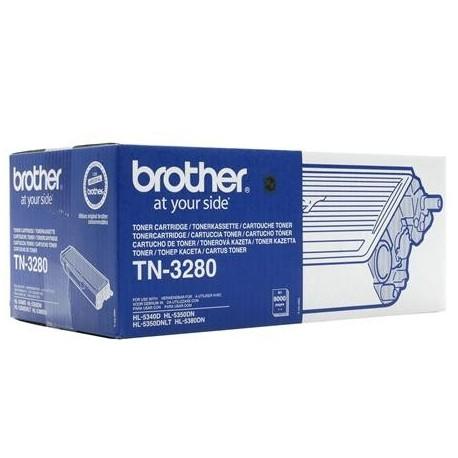 Brother TN-3280 didesnės talpos juoda tonerio kasetė (TN3280)