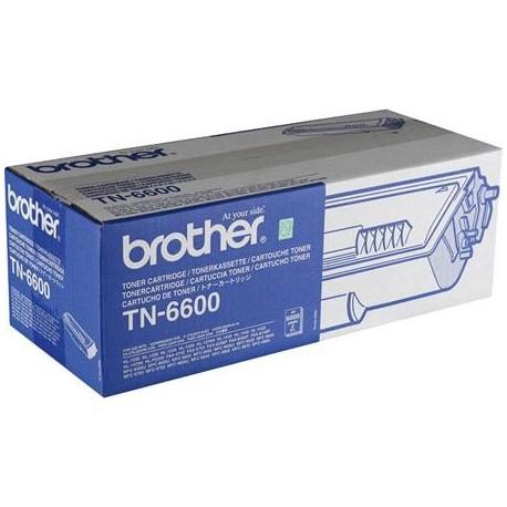 Brother TN-6600 higher capacity black toner cartridge (TN-6600)