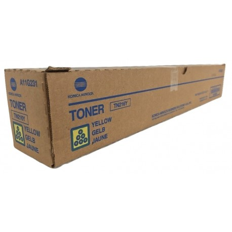 Konica Minolta TN-216Y copier powder (A11G251, TN216Y)