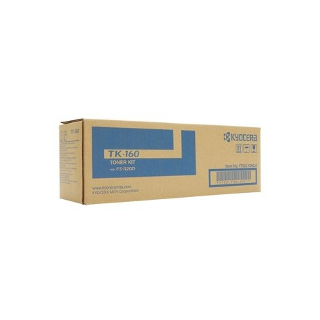 Kyocera TK-160 black toner cartridge (TK-160)