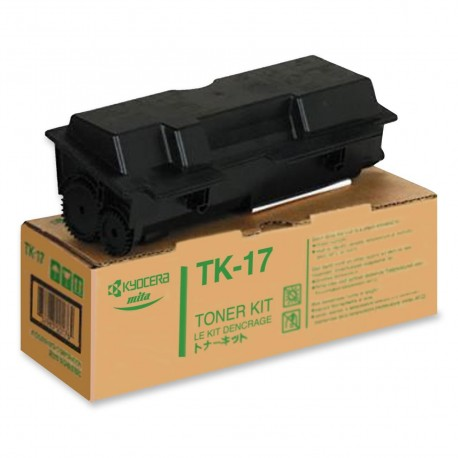 Kyocera TK-17 black toner cartridge (TK-17)