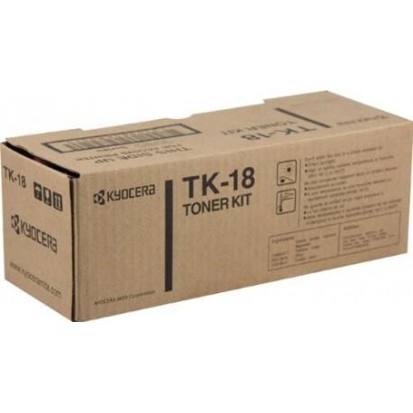 Kyocera TK-18 black toner cartridge (TK-18)