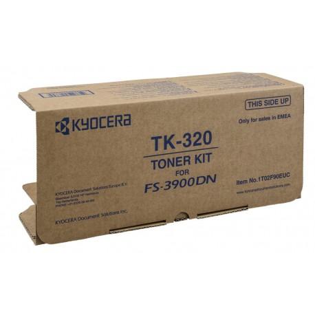 Kyocera TK-320 black toner cartridge (TK-320)