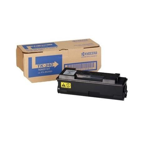 Kyocera TK-340 black toner cartridge (TK-340, TK340)