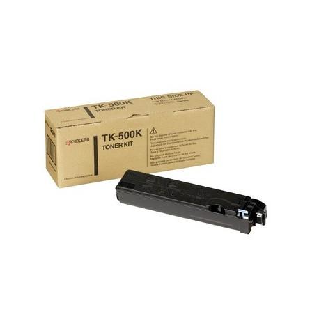 Kyocera TK-500K black toner cartridge (TK-500K, TK500K)