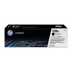 HP 128A juoda tonerio kasetė (CE320A)