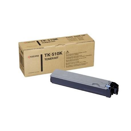 Kyocera TK-510K black toner cartridge (TK-510K, TK510K)