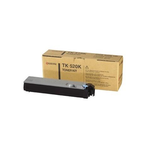 Kyocera TK-520K black toner cartridge (TK-520K, TK520K)