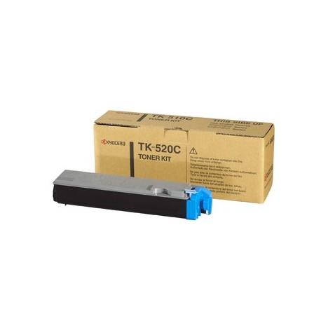 Kyocera TK-520C cyan toner cartridge (TK-520C, TK520C)