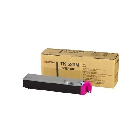 Kyocera TK-520M magenta toner cartridge (TK-520M, TK520M)