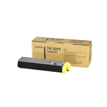 Kyocera TK-520Y geltona tonerio kasetė (TK520Y)