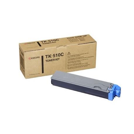 Kyocera TK-510C cyan toner cartridge (TK-510C, TK510C)