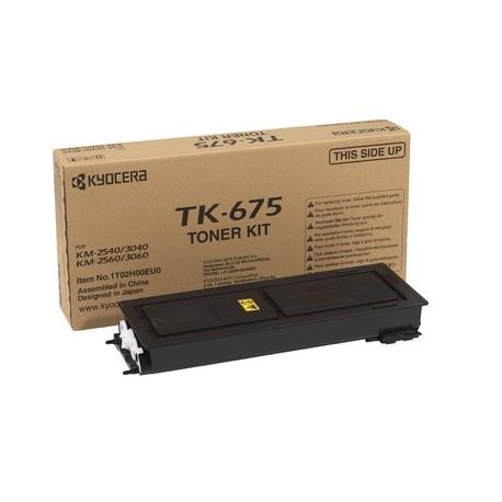 Kyocera TK-675 black toner cartridge (TK-675, TK675)