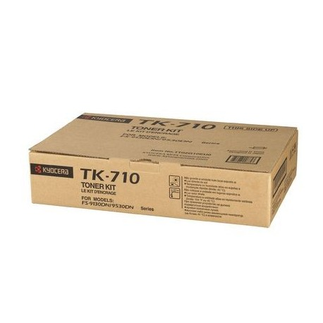 Kyocera TK-710 black toner cartridge (TK-710, TK710)