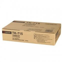 Kyocera TK-715 juoda tonerio kasetė (TK715)