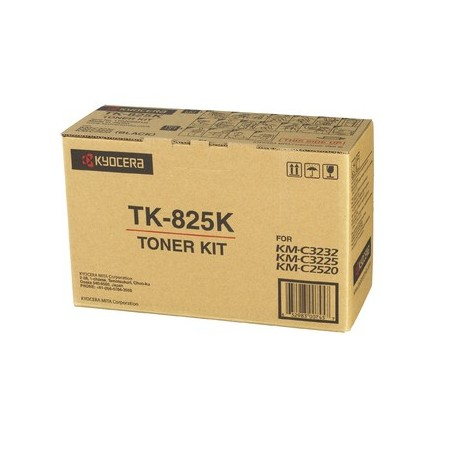 Kyocera TK-825K black toner cartridge (TK-825K, TK825K)