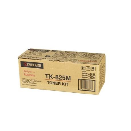 Kyocera TK-825M magenta toner cartridge (TK-825M, TK825M)