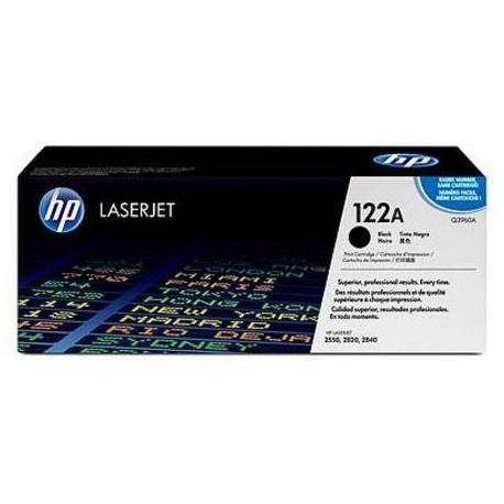 HP 122A juoda tonerio kasete (Q3960A)