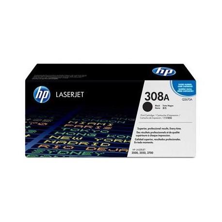 HP 308A juoda tonerio kasete (Q2670A)