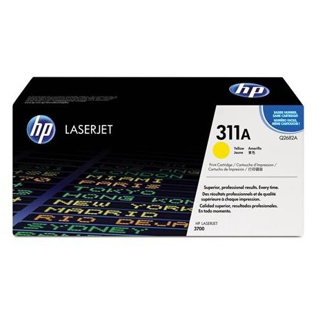 HP 311A geltona tonerio kasete (Q2682A)