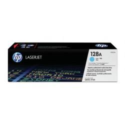 HP 128A cyan toner cartridge (CE321A)