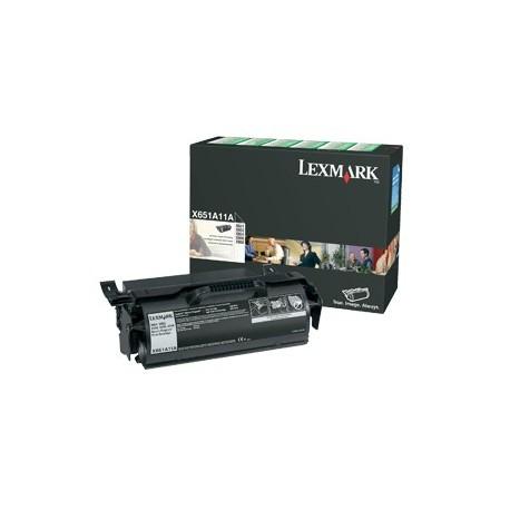 Lexmark X651A11E tonerio kasetė