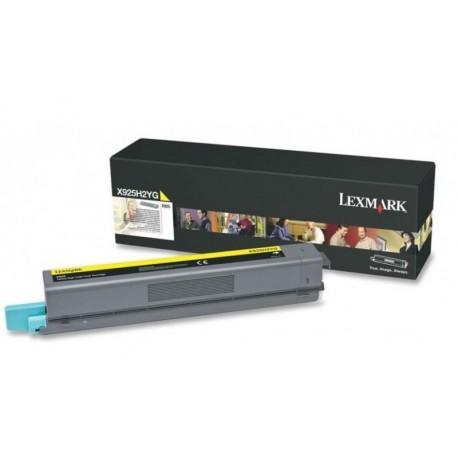 Lexmark X925H2YG yellow toner cartridge (X925H2YG)