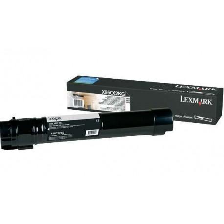 Lexmark X950X2KG black toner cartridge (X950X2KG)