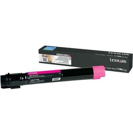Lexmark X950X2MG magenta toner cartridge (X950X2MG)