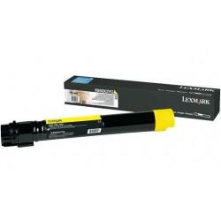 Lexmark X950X2YG geltona tonerio kasetė