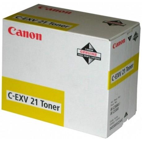 Canon C-EXV21 yellow toner cartridge (C-EXV21)