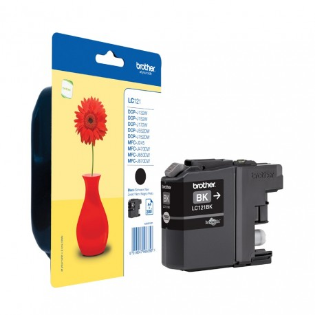 Brother LC121BK black ink cartridge (LC121Bk)