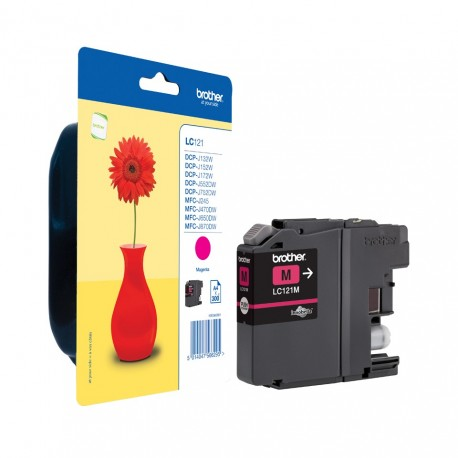 Brother LC121M magenta ink cartridge (LC121M)