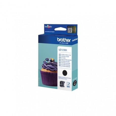 Brother LC123BK black ink cartridge (LC123BK)