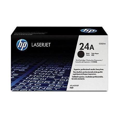 HP 24A black toner cartridge (Q2624A)