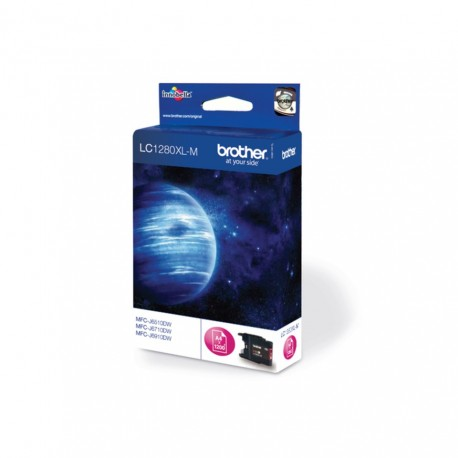 Brother LC1280XL-M higher capacity magenta ink cartridge