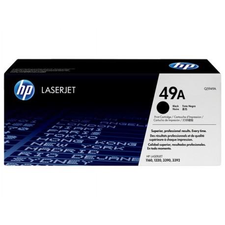 HP 49A black toner cartridge (Q5949A)