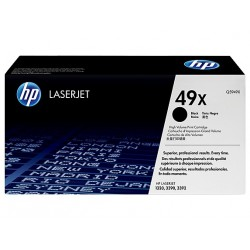 HP 49X higher capacity black toner cartridge (Q5949X)