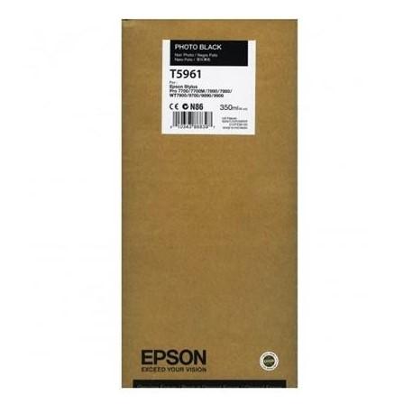 Epson T5961 foto juoda rašalo kasetė (T596100)