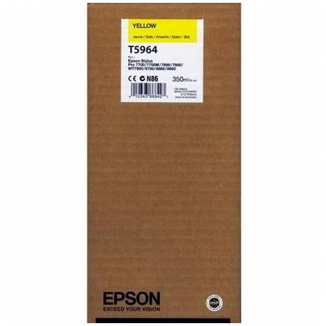 Epson T5964 geltona rašalo kasetė (T596400)