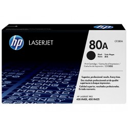 HP 80A black toner cartridge (CF280A)