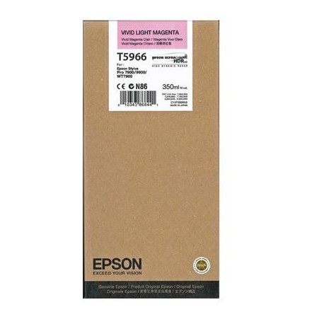 Epson T5966 light magenta ink cartridge (C13T596600)