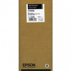 Epson T5968 matinė juoda rašalo kasetė (T596800)