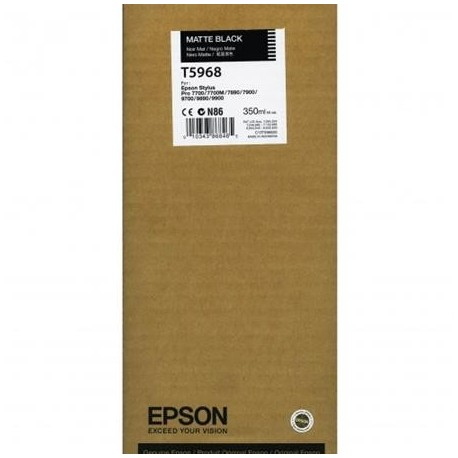 Epson T5968 matte black ink cartridge (C13T596800)