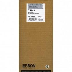Epson T5969 šviesiai šviesiai juoda rašalo kasetė (T596900)