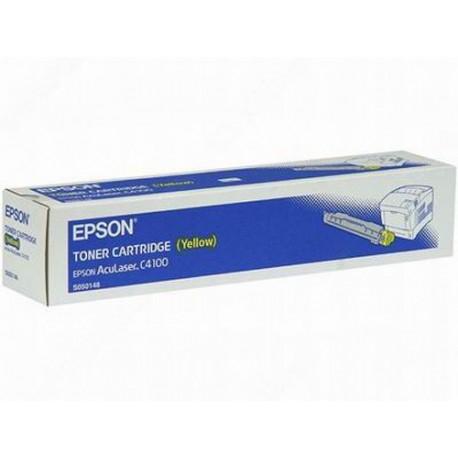 Epson C4100 yellow toner cartridge (C13S050148)
