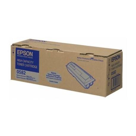 Epson 0582 black toner cartridge (C13S050582)