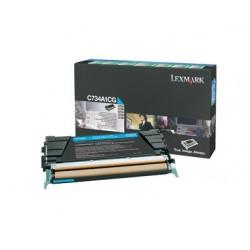 Lexmark C734A1CG žydra tonerio kasetė