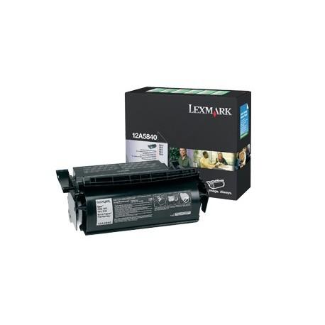 Lexmark 12A5840 black toner cartridge (12A5840)