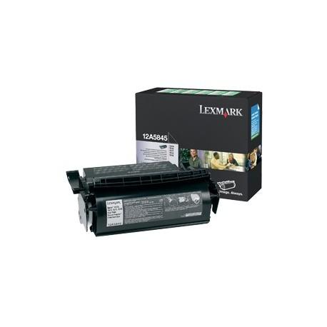 Lexmark 12A5845 didesnės talpos juoda kasetė